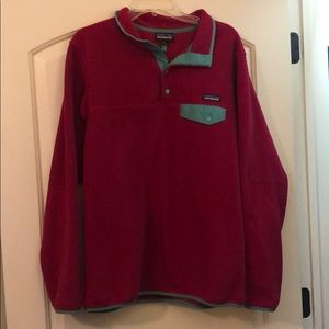 PATAGONIA SYNCHILLA FLEECE RASPBERRY MINT 1/4